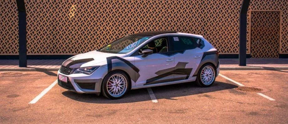 Aerodynamischer Camouflage Autoaufkleber