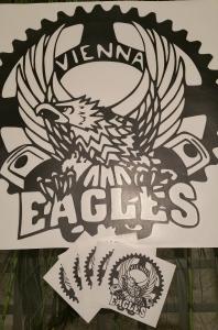 Stickerinsel_Vienna Eagles_Domainaufkleber