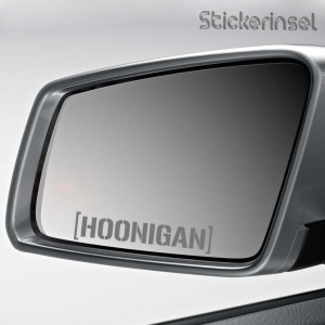 Stickerinsel Aufkleber Hoonigan