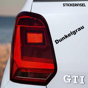 Stickerinsel_Scheinwerfer Tönungsfolie dunkelgrau